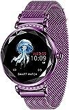 TYUI Reloj deportivo inteligente de las mujeres s pantalla de color pulsera inteligente continua ritmo cardíaco dinámico interfaz