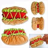 Pet Online Ropa de perro Halloween Dress Up funny hot dog fancy Festival Cosplay traje,M