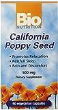 Bio Nutrition California Poppy Vegi-Caps (2-Pack of 60)