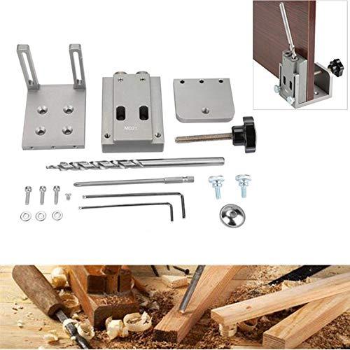 Pocket Hole Jig Kit , Mini Style Taschenloch Jig Kit für Holz Arbeitsschritt Bohrer Set