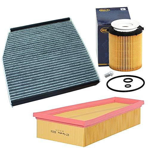 Inspektionspaket Ölfilter,Luftfilter,Innenraumfilter von SCT Germany - Filteristen