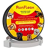 Flеa Tiсk Collar Prevention Control for Dogs & Cats - Natural Herbal Non-Toxic Adjustable Flеa Collar Waterproof Protection for Large Medium Small Pet Supplies Repеls Flеas Licе Tiсks Mоsquitоes
