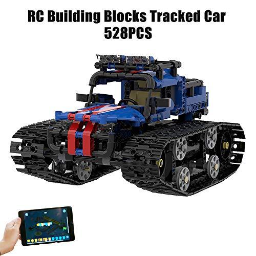 Benkeg Coche RC Building Blocks iHoneyComb 5in1 Stem Creative Toolbox: Build | Código | Juego y Kit de codificación educativa para niños, galardonado Juguete de Aprendizaje Stem (528 Piezas)
