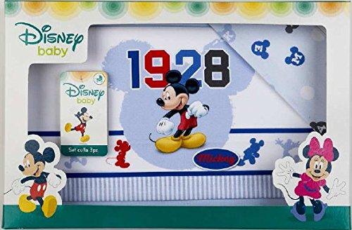 lenzuolini Berceau Lit Disney Mickey (Bleu)