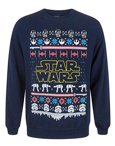 Vanilla Underground Star Wars Logo Christmas Sweatshirt
