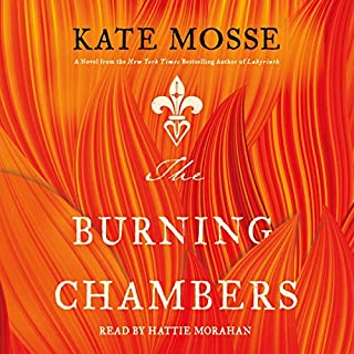 The Burning Chambers audiobook cover art