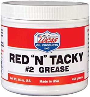 Lucas Oil 10574 RED N Tacky GREASE