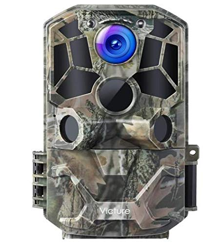 Victure WiFi Wildlife Camera 30MP 1296P Night Vision Motion Activated with IP66...