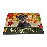 Bageyou - Felpudo de bienvenida con mi perro favorito Rottweiler...