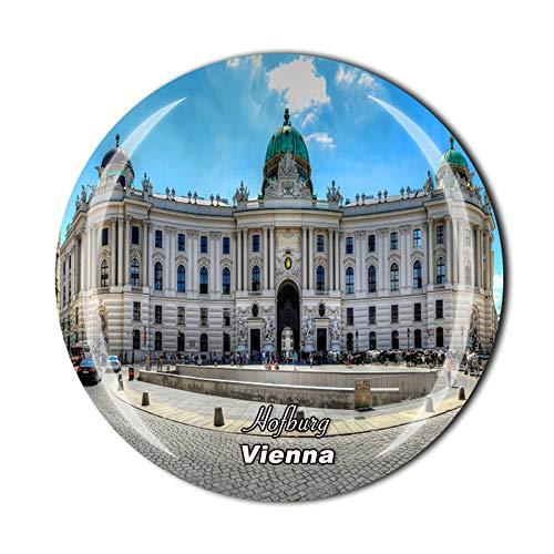 Hofburg Wien Österreich Kühlschrankmagnet Reise-Souvenir Geschenk Zuhause Küche Kühlschrank Dekoration Magnetaufkleber Kristall-Magnet-Kollektion