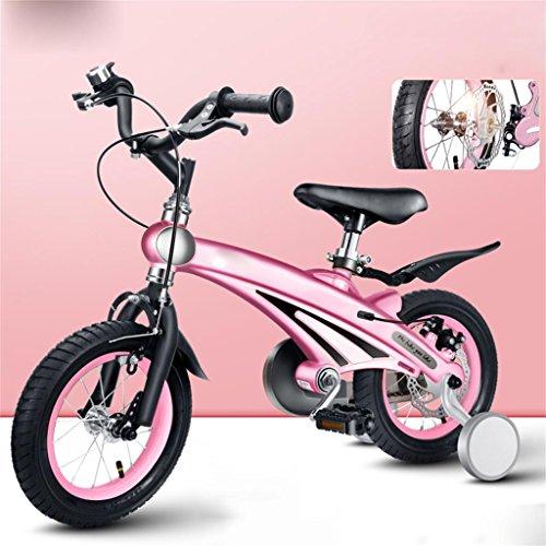 Les vélos d'enfants Garçon et Fille bébé 12/14/16 Pouces vélo Mountain Bike créatif Mode Mignon Cadeau (Couleur : N ° 3, Taille : 14 inches)
