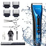 Best Hair Clippers - BarberBoss Professional Hair Clippers for Men Kids Family Review