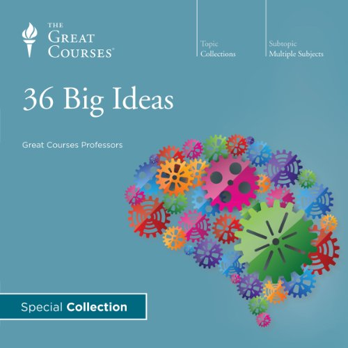 36 Big Ideas audiobook cover art