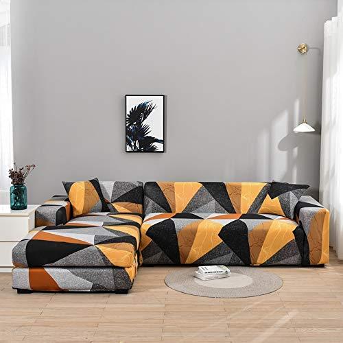 Funda de sofá con Estampado Floral Toalla de sofá Fundas de sofá para Sala de Estar Funda de sofá Funda de sofá Proteger Muebles A12 2 plazas