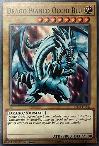 Yu Gi Oh - Drago Bianco Occhi Blu LED3-IT006 - Comune - Duellanti Leggendari: Drago Bianco dell'Abisso - Italiano