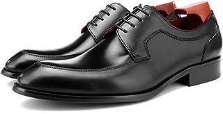 Chaussures Monk hommes,Boucle d'affaires Chaussures en cuir Urban marche travail Robe Banquet Chaussures,Black- 42/UK 8/US...