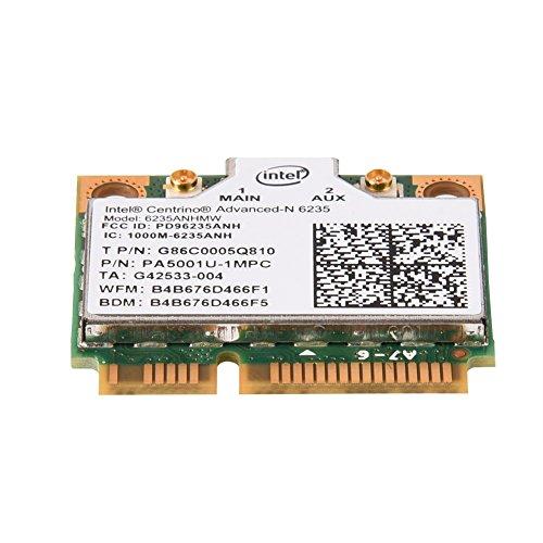 Estink Mini Tarjeta PCI-E WiFi, Tarjeta de Red inalámbrica de Doble Banda 2.4G / 5G, Adecuada para Intel 945/965 / GM45 / PM45, Compatible con el Sistema Windows 7 / Windows 8 / Windows 10