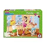 Schmidt Spiele Bibi Blocksberg-Puzzle Infantil (60 Piezas), diseño de la Escuela de Ballet (56279)