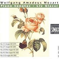 Piano Sonatas 1-5 by LIV GLASER (1992-01-08)
