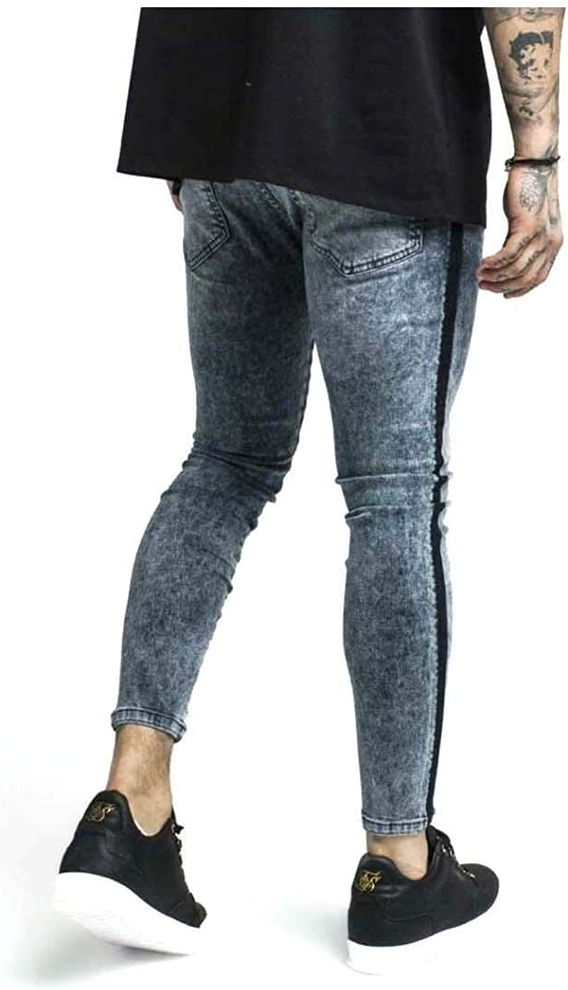 Sik Silk - Pantalon - Homme Bleu