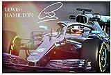 Kribee Lewis Hamilton Formel 1 Racing Poster 03 Poster