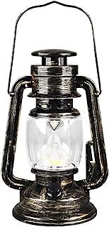 Oil Lamp Kerosene Lamp خمر إعصار فانوس، معدن شنقا فانوس مع التبديل باهتة، بطارية تعمل فانوس للاستخدام الداخلي أو في الهواء...