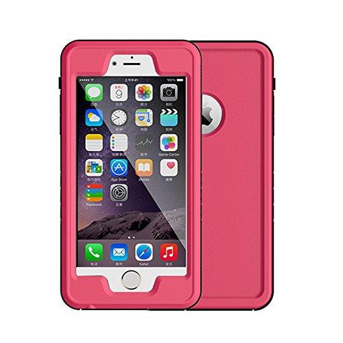 Kevenanna, custodia protettiva durevole completamente sigillata per iPhone 6 e 6S Plus, impermeabile, antiurto, antipolvere, antineve, 14cm