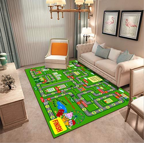 Mianbao Teppich Wohnzimmer Schlafzimmer Kinder Krabbeln Kinder Kinderzimmer Heimspiel Matte Babys dauerhafte Persönlichkeit Mode Rechteck Schlafsaal Küchensofa 100 * 160cm
