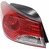 Wholesale Parts 11-13 Hy Elantra Sedan Left Rear Tail Lamp Assembly Quarter Mounted w/o LED USA