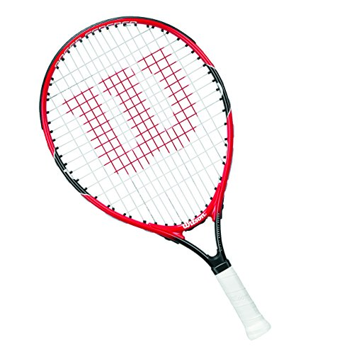 Wilson Tennisschläger Mädchen/Jungen, 9 bis 10 Jahre, All Courter, Roger Federer 25, Rot/Grau