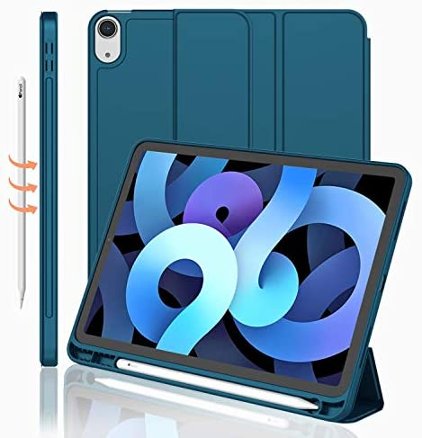 iMieet iPad Air 4th Generation Case 2020 iPad 10 9 Inch Case 2020 with Pencil Holder Support product image