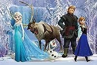 Elsa 背景幕 誕生日バナー 女の子用 アナと雪の女王 エルサ プリンセス パーティー用品 ベビーシャワー 氷 雪 城 背景 写真