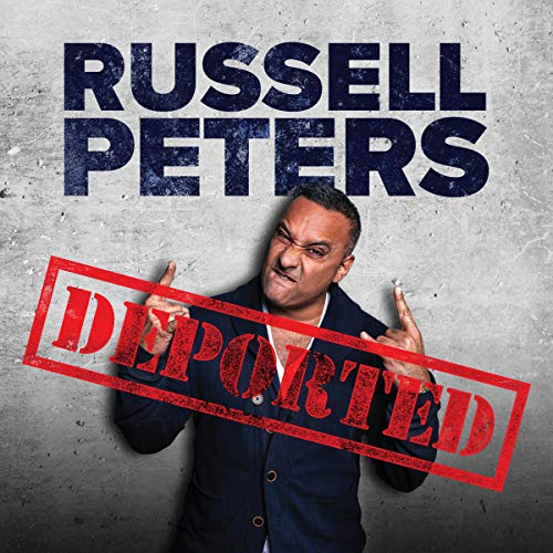 Russell Peters: Deported audiobook cover art