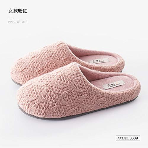 Zapatillas De Casa Para Mujer,Invierno Caliente