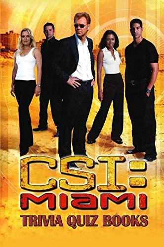 CSI Miami Trivia Quiz Books (English Edition)