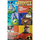 Disney Parks Pixar Activity and Coloring Book