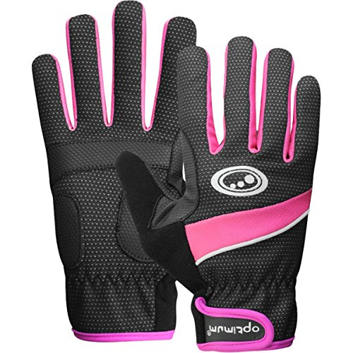 OPTIMUM - Gants Hiver Cyclisme Femme Rose Rosa - Nero/Rosa XS