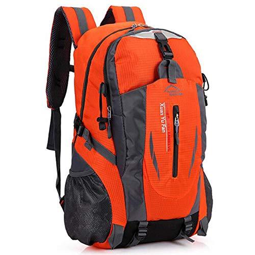 RANJN Nylon reisrugzak grote capaciteit camping casual rugzak 15-inch laptop rugzak vrouwen outdoor wandeltas