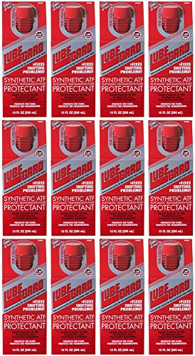 LUBEGARD Lube Gard Automatic Transmission Fluid ATF Synthetic Additive Red 60902 12 pack