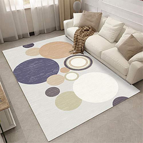 alfombra antideslizante ba?era Alfombra azul, amarillo claro, blanco con patrón de círculo,...