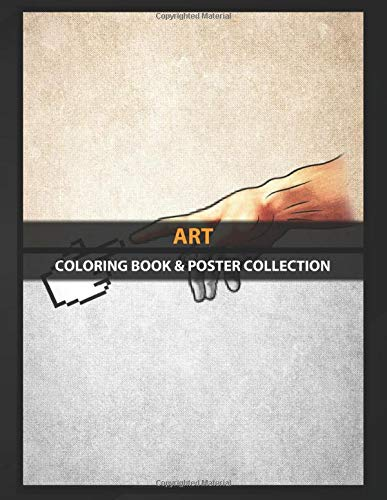 Coloring Book & Poster Collection: Art Funny 8bit Nerd Gaming