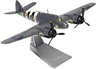X-Toy Modelo De Combate Militar, 1/72 Escala De Bristol Beaufighter TFX RAF Aleación, Coleccionables para Adultos Y Regalos, 6.9Inch X9.6Inch
