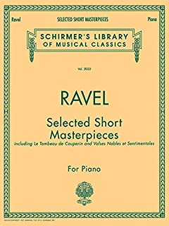 Selected Short Masterpieces: Schirmer Library of Classics Volume 2022 Piano Solo