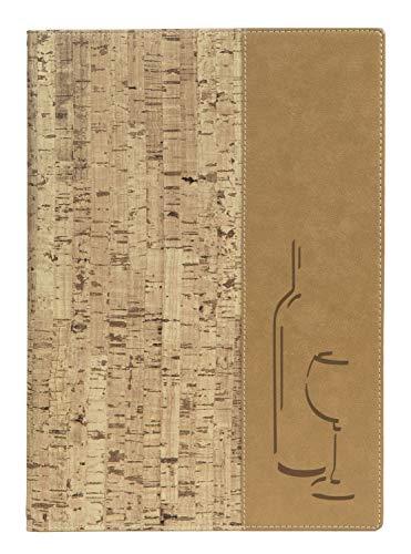Securit Carta Vini A4 - Design in Sughero - 1 inserto doppio