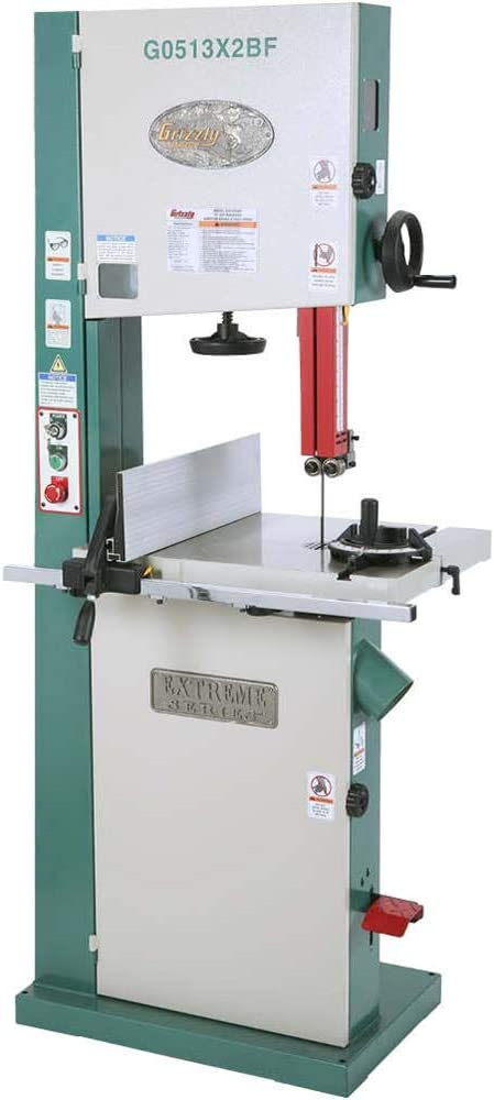 Grizzly G0513X2BF 2 HP Extreme-Series with Bandsaw Tru Cast-Iron Challenge the lowest price of Japan ☆ Charlotte Mall