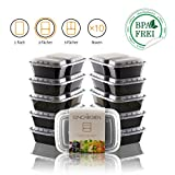 Amazy Meal Prep Container (10er Set | 2 Fächer) –...
