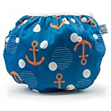 Product Image of the Large Nageuret Reusable Swim Diaper, Adjustable & Stylish Fits Diapers Sizes 4-7...