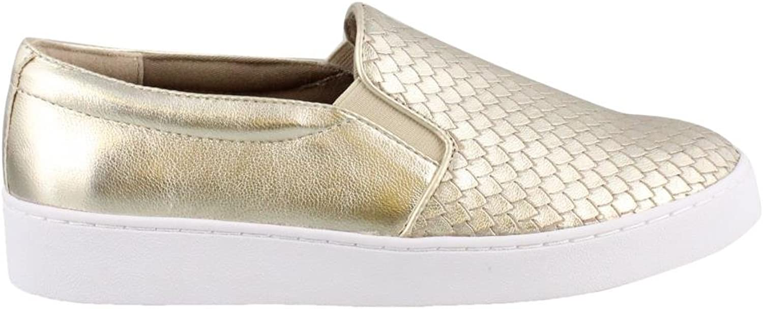 Vionic Womens midi Suede Low Top Slip On Fashion Sneakers