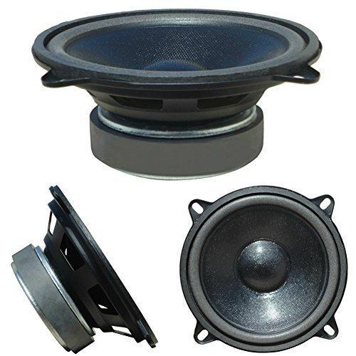 MASTER AUDIO CW500/4 CW 500/4 altoparlante diffusore medio basso mid woofer 13,00 cm 130 mm 5' 40 watt rms 80 watt max impedenza 4 ohm per auto 92 db a sospensione morbida, nero, 1 pezzo