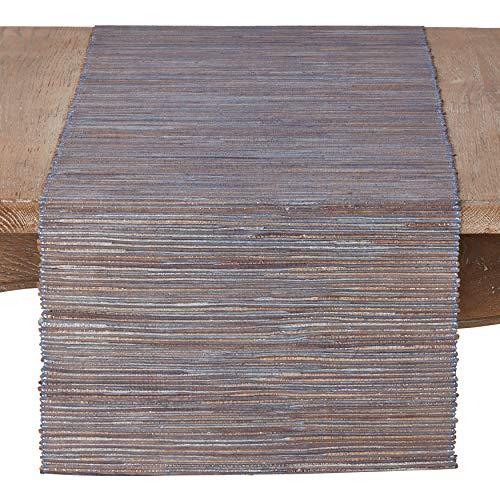 Nubby Texture Woven Table Runner